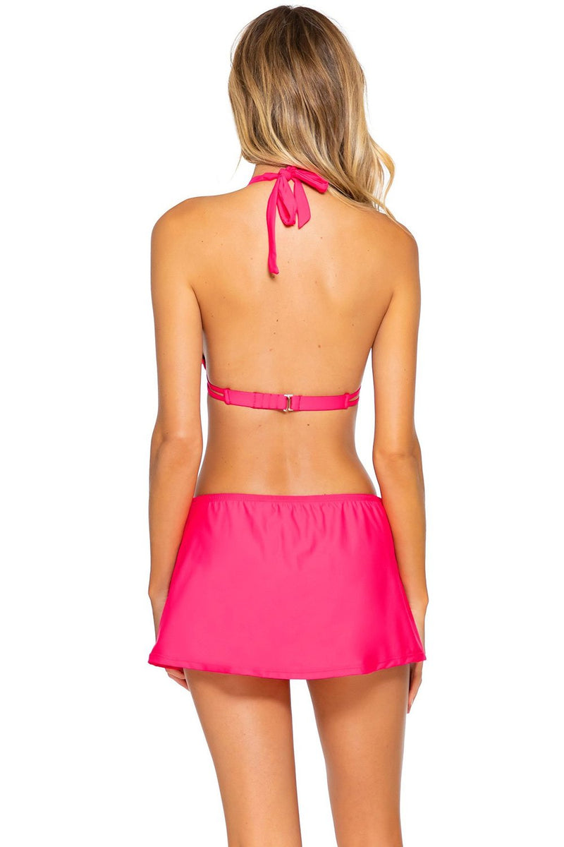 Sunsets Hot Pink Marilyn Halter Top