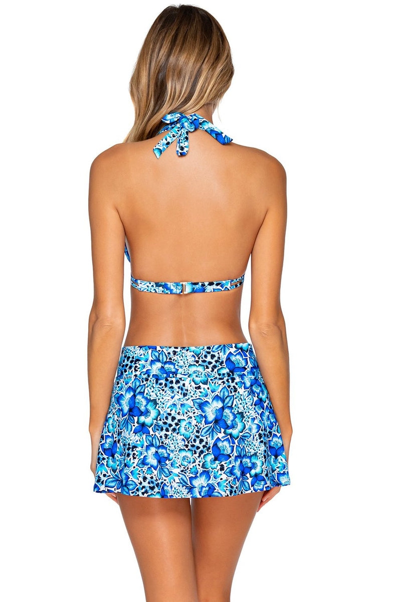 Sunsets Bay Blues Summer Lovin Swim Skirt Bottom