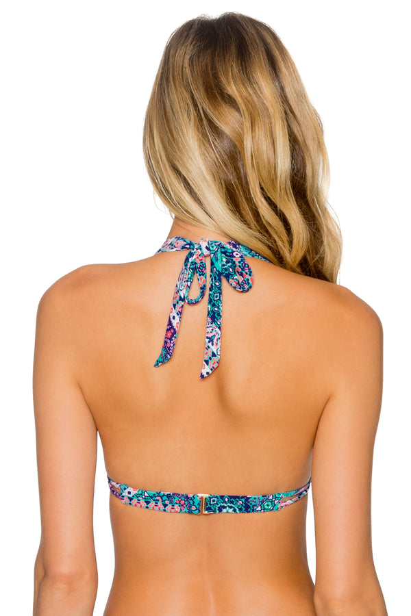 Sunsets Grand Bazaar Marilyn Halter Top