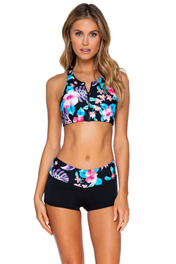 Sunsets Aloha Seascape Swim Short Bottom