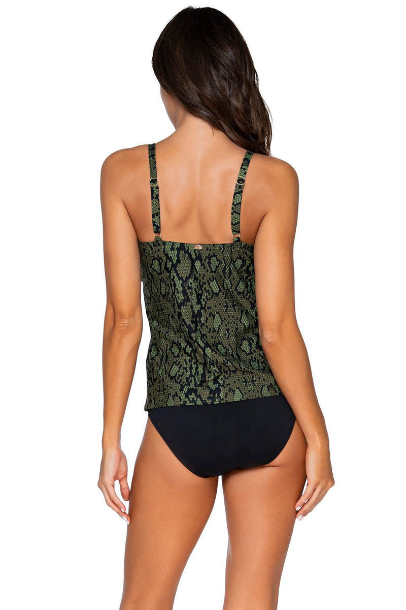 Sunsets Snake Charmer Avery D-H Cup Tankini Top