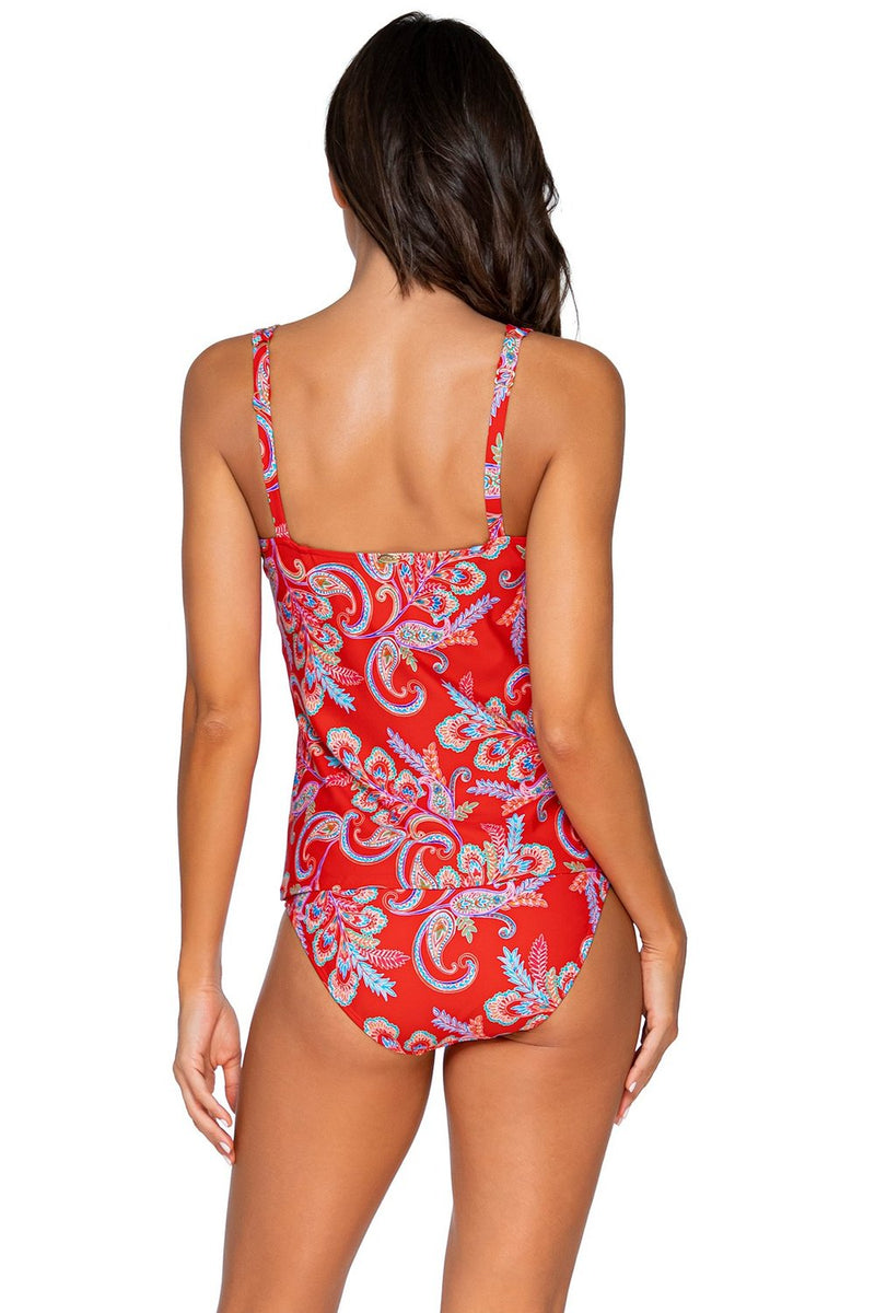 Sunsets Newport Taylor Tankini D-H Cup Top