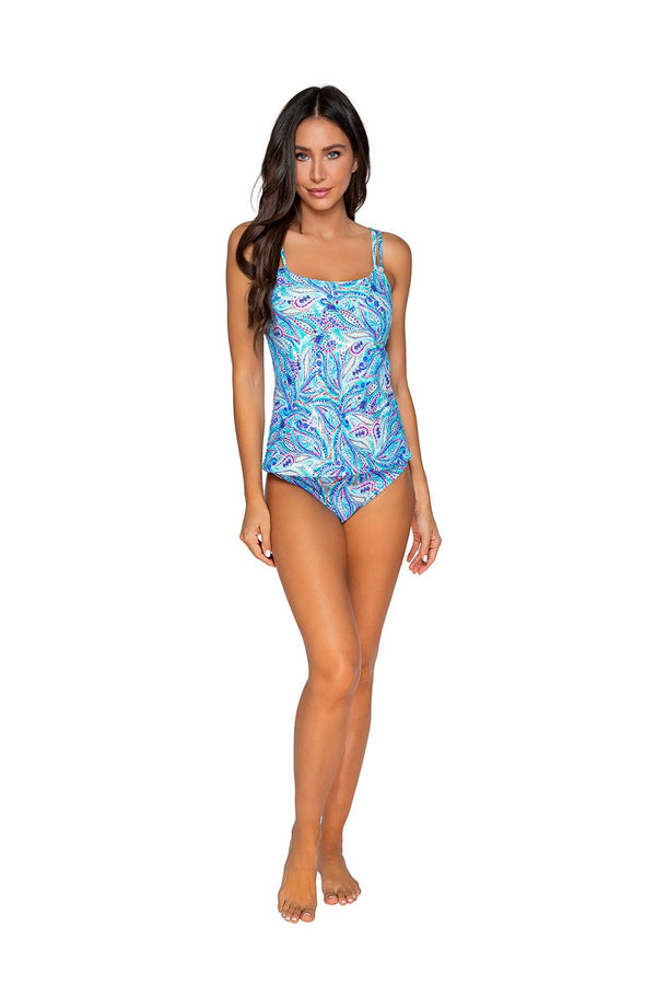Sunsets Shore Bird Taylor D-H Cup Tankini Top