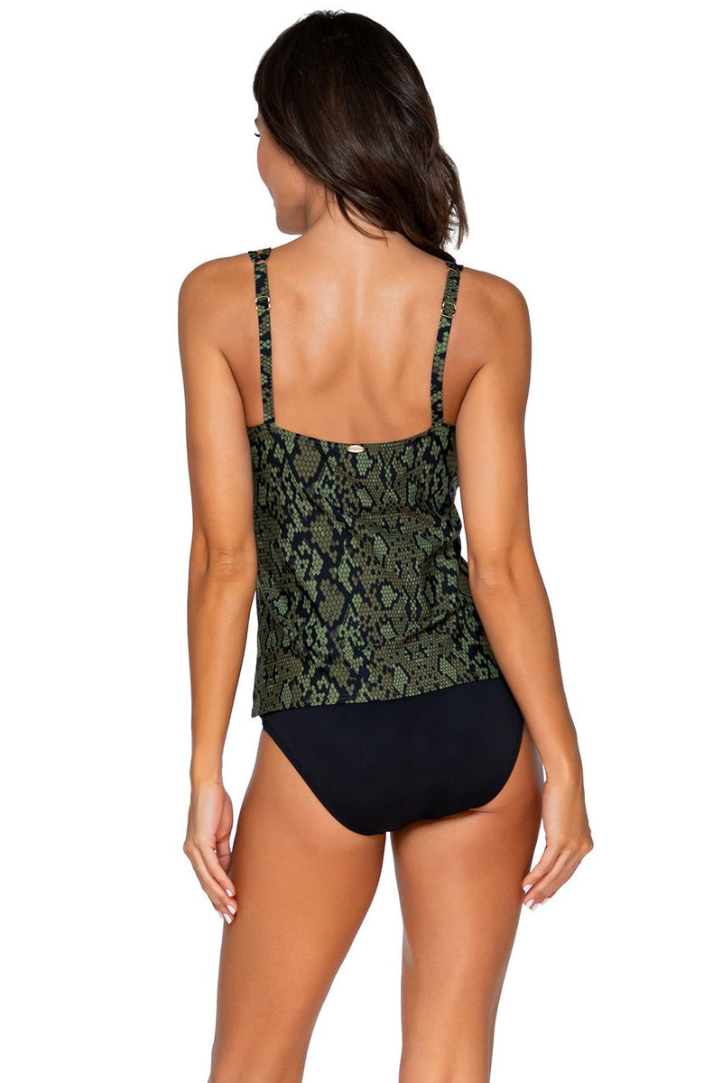 Sunsets Snake Charmer Taylor D-H Cup Tankini Top