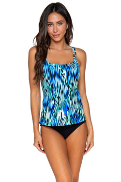 Sunsets Socialite Taylor D-H Cup Tankini Top