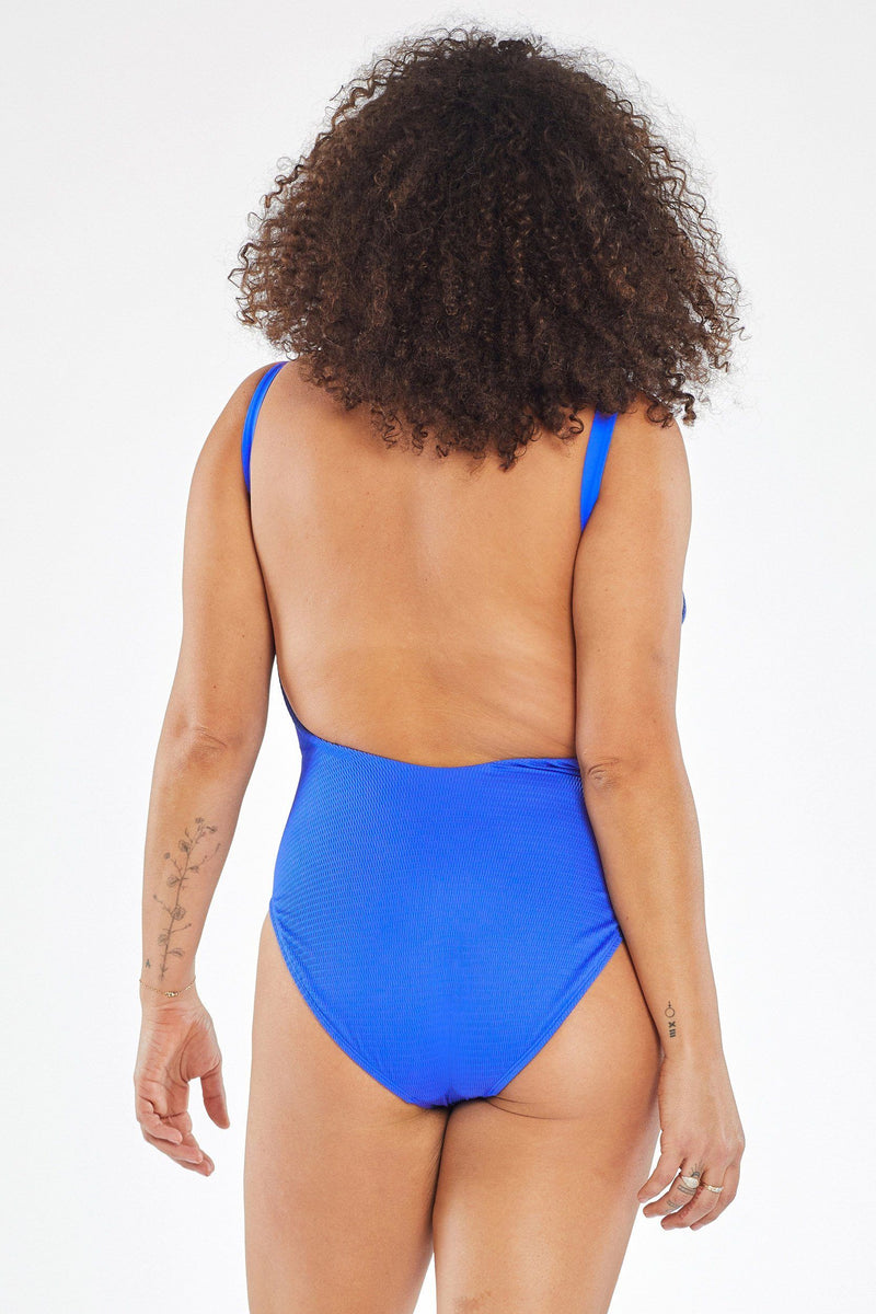 Vitamin A Spa Blue EcoTex Leah Bodysuit Full Cut