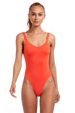 Vitamin A Marisol EcoLux Leah Full Bodysuit One Piece