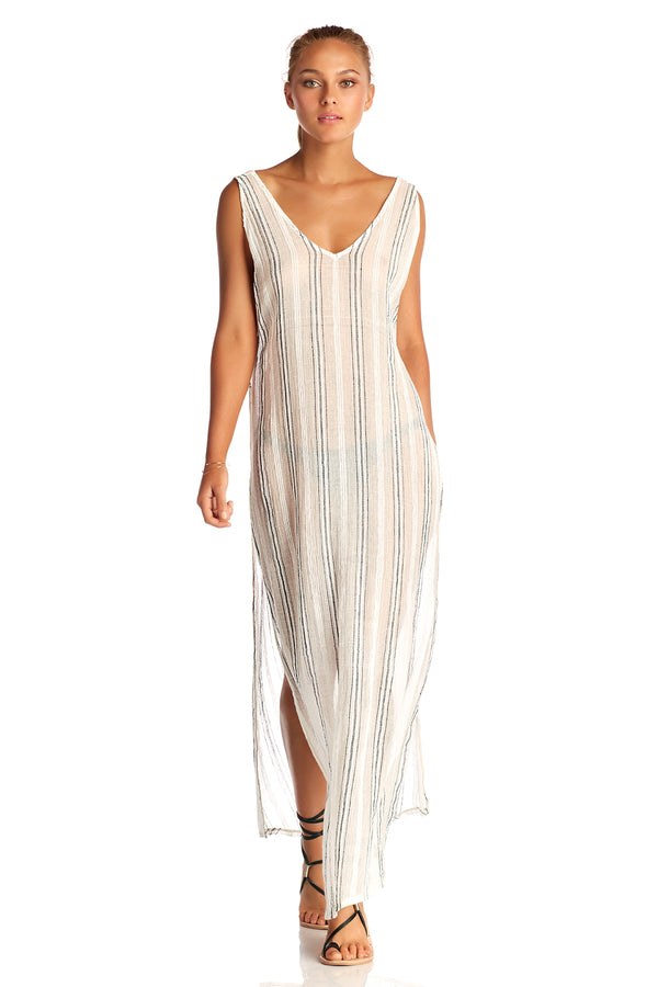 Vitamin A Ren Stripe Tradewinds Dress
