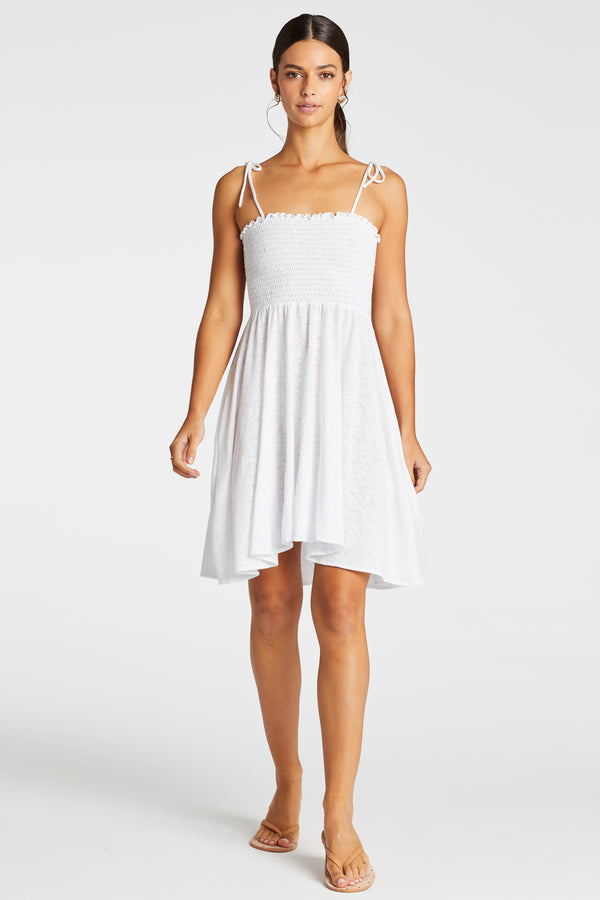 Vitamin A White EcoCotton Gigi Dress