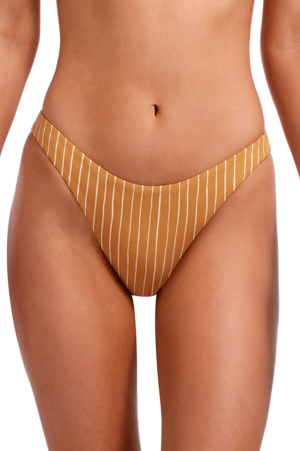 Vitamin A Dorada Stripe California High-Leg Bottom
