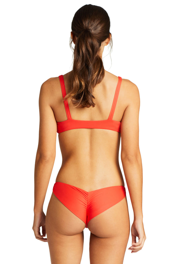 Vitamin A Marisol EcoLux Samba Ruched Back Bottom