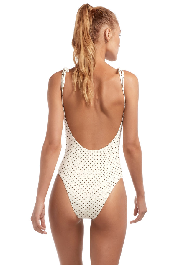 Vitamin A Rumba Dots Sultana Valentina Bodysuit One Piece