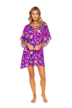 Sunsets Evening Blooms Tulum Tunic