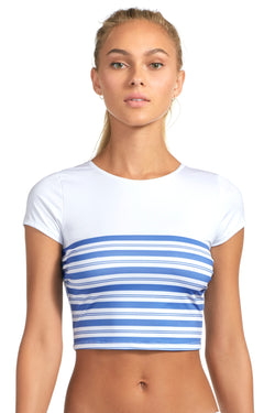 Vitamin A Regatta Stripe Deia Crop Top