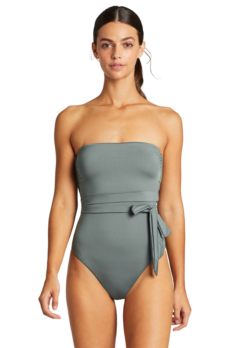 Vitamin A Sea Green EcoLux Marilyn Bodysuit One Piece