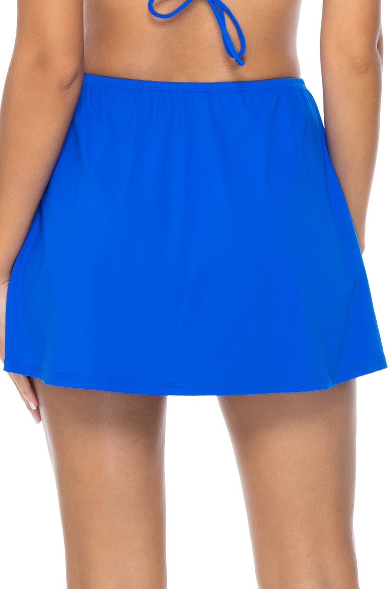 Sunsets Imperial Blue Del Mar Skirt Cover-Up