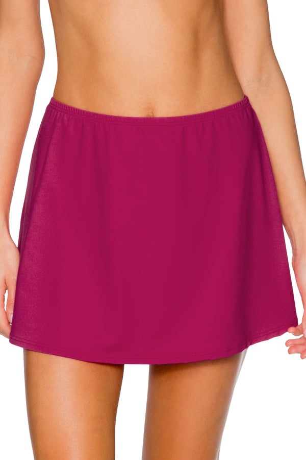 Sunsets Pink Poppy Del Mar Cover Up Skirt