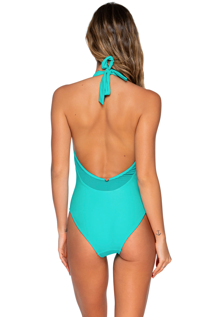Swim Systems Island Water Solana Plunge One Piece