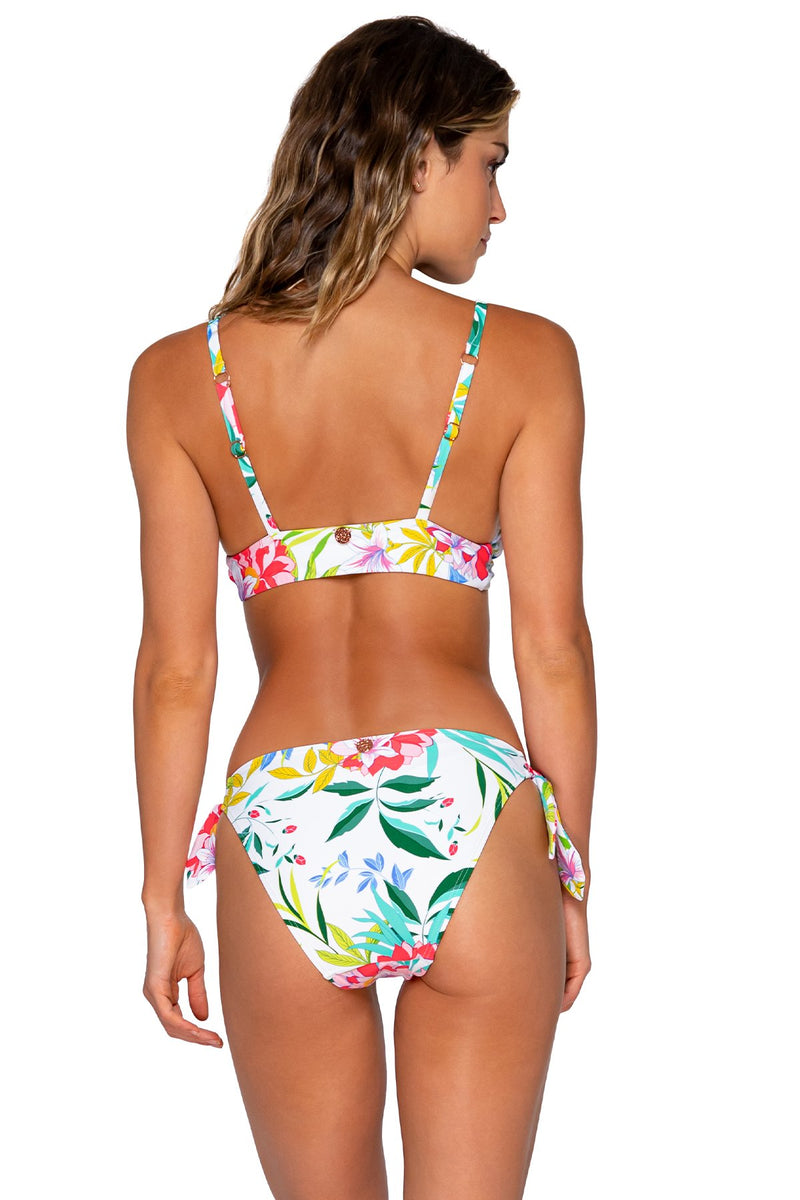 Swim Systems Coastal Garden Poppy Tie Side Bottom