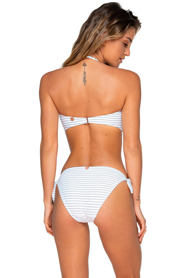 Swim Systems Maritime Stripe Bridget Bandeau Top