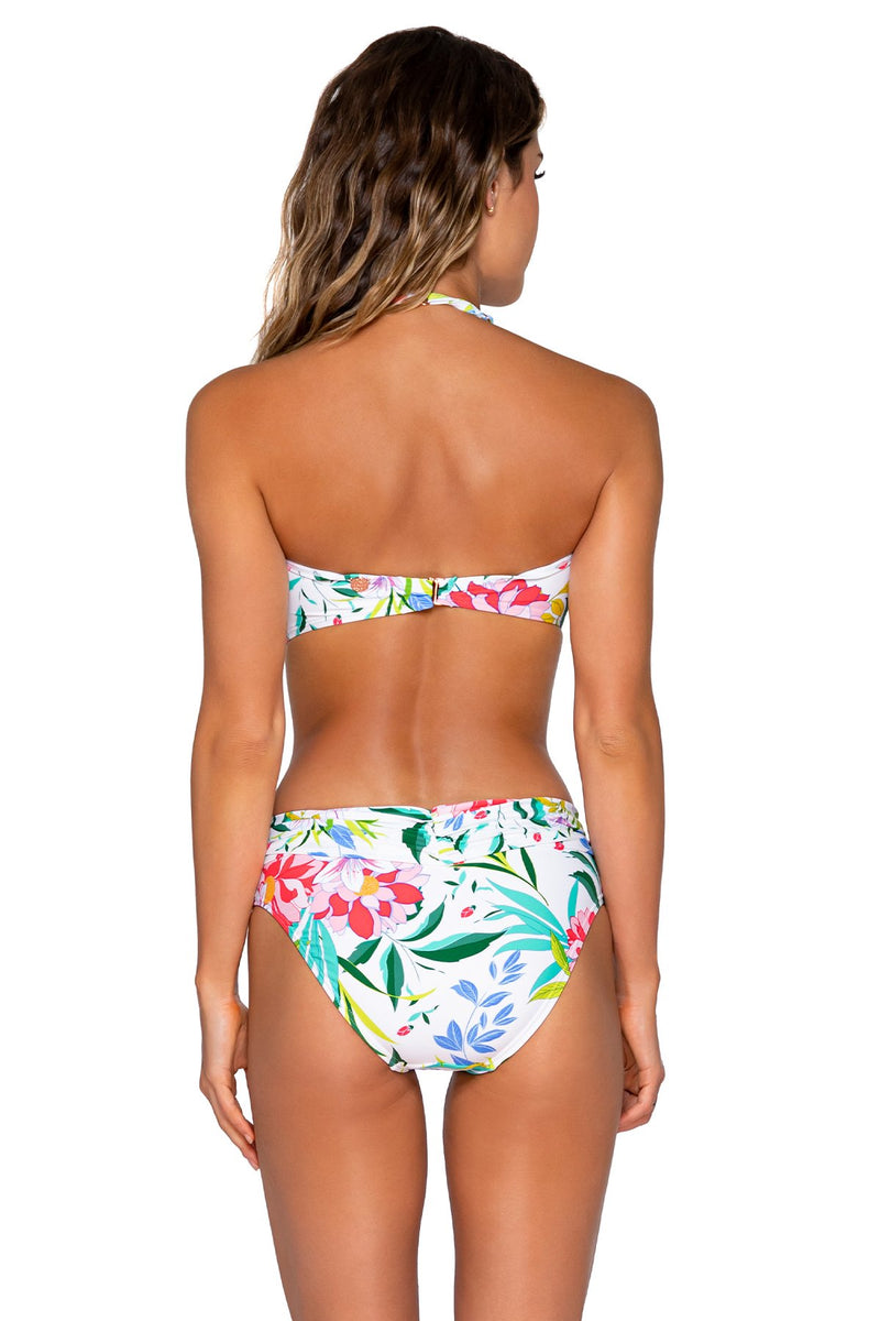 Swim Systems Coastal Garden Bridget Bandeau Top