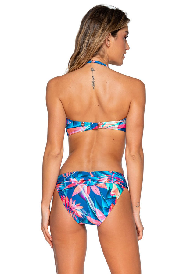 Swim Systems Tropical Punch Bridget D/DD Cup Bandeau Top