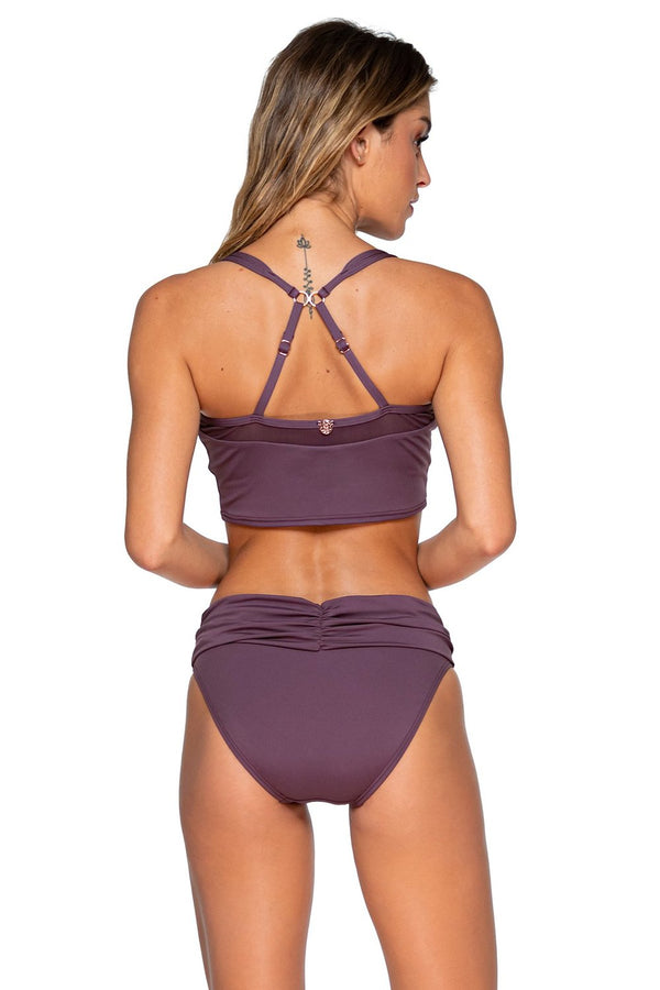 Swim Systems Fig Capri Cropped Tank