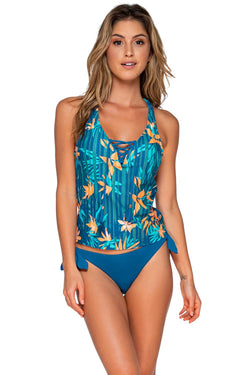 Swim Systems Moonlit Island Tahlia Tankini Top