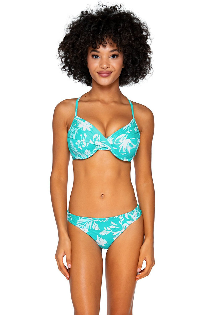 Swim Systems Luau Crossroads D/DD Cup Underwire Top