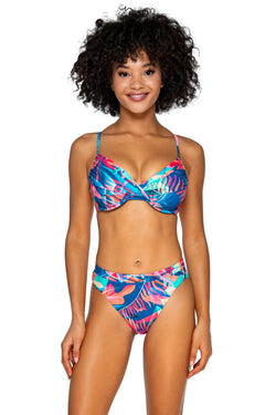 Swim Systems Tropical Punch Crossroads D/DD Cup Underwire Top