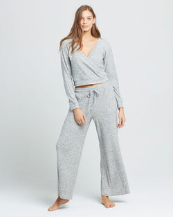 LSpace Heather Grey Lotta Loungin' Pant