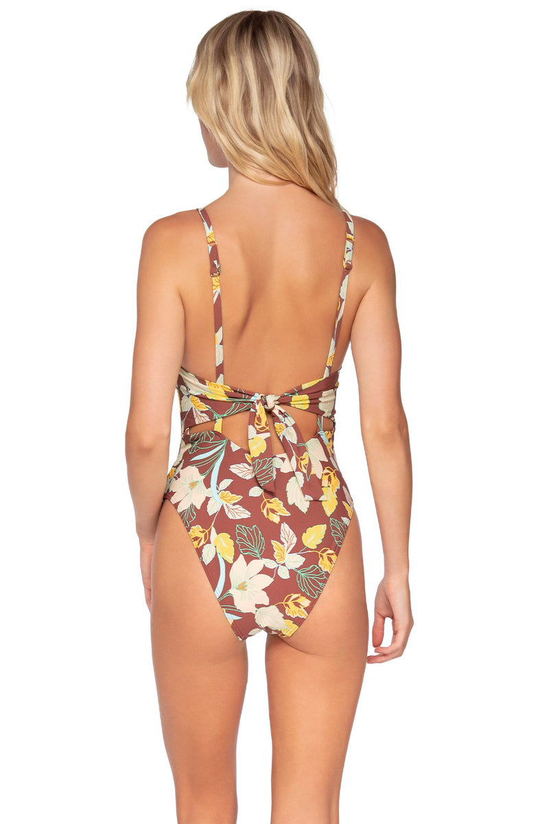SWIM SYSTEMS DESERT BLOOMS JANE ONE PIECE