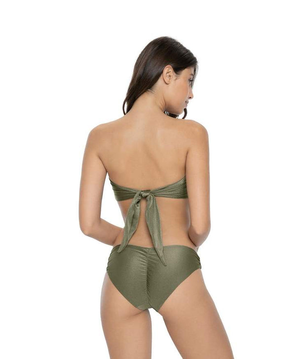 PilyQ Moss Basic Ruched Bottoms