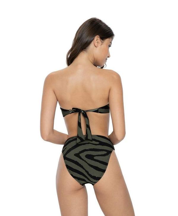 PilyQ Tiger Lily Hillary High Waist Full Bottoms