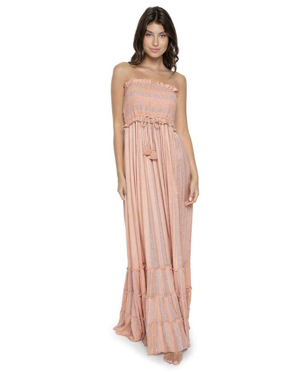 PilyQ Pink Sands Charlotte Dress