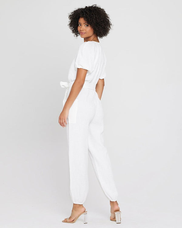 LSpace White Shore Thing Jumper