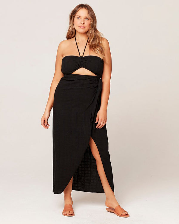 LSpace Black Solana Cover-Up