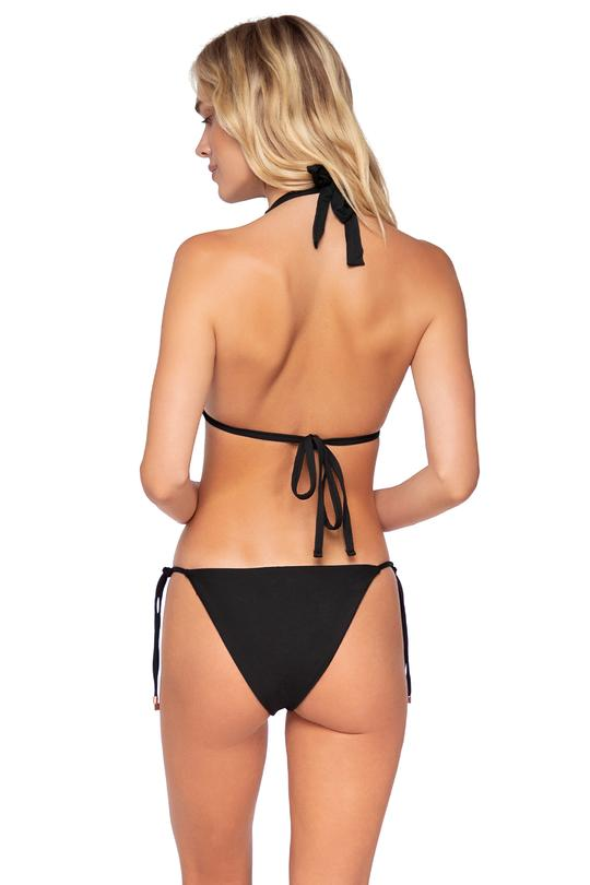 SWIM SYSTEMS BLACK HOLLY TIE SIDE BOTTOM