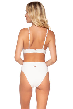Swim Systems Coconut Hermosa High Waist Bottom