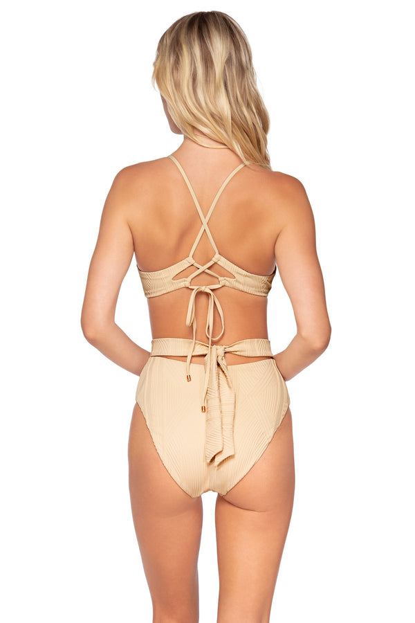 SWIM SYSTEMS SANDSTONE CORA TIE BACK BOTTOM