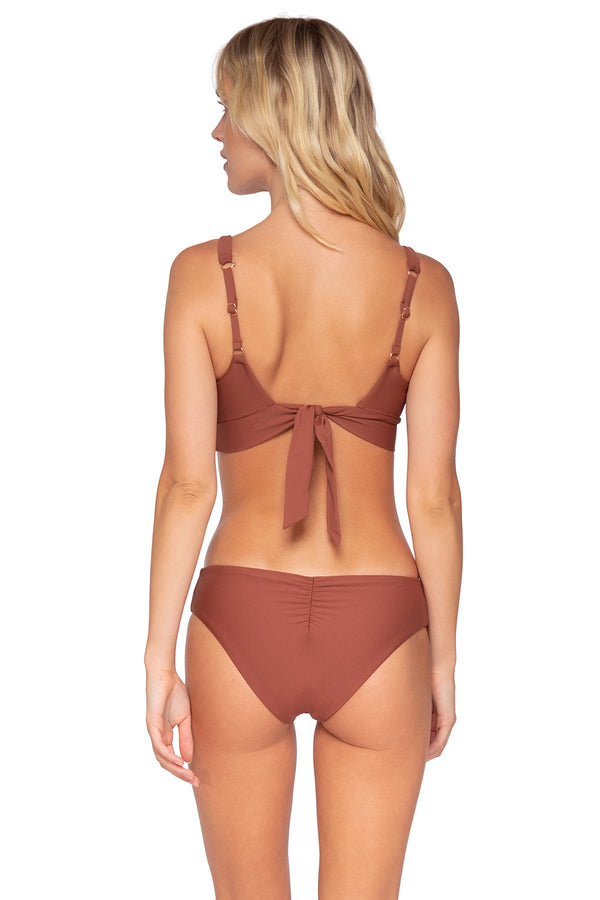 SWIM SYSTEMS CANYON CLAY HAZEL HIPSTER BOTTOM