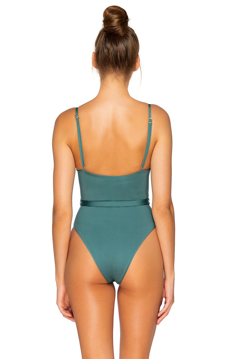 B SWIM DARK SAGE JETTY 1 PIECE