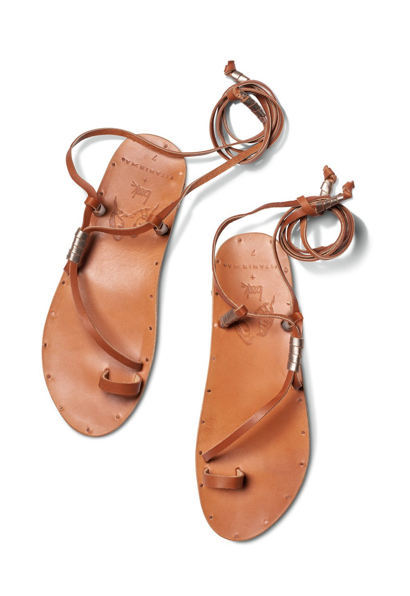 Vitamin A Tan/Tan Bluebird Sandal