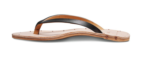 Vitamin A Black/Natural Seabird Sandal