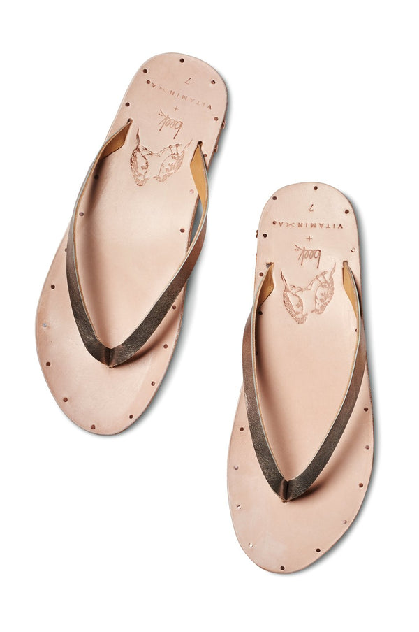 Vitamin A Bronze/Natural Seabird Sandal
