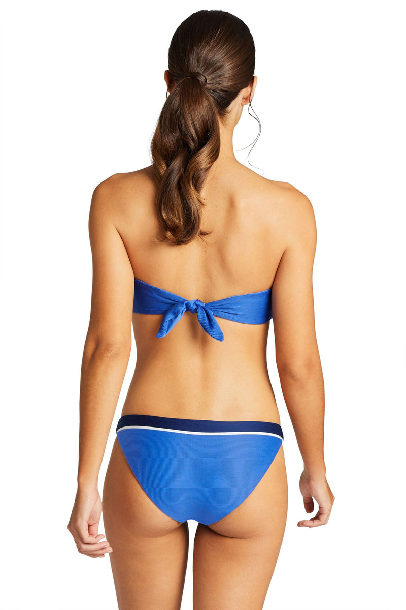 Vitamin A Blu Bar Stripe Luciana Full Coverage Bottom