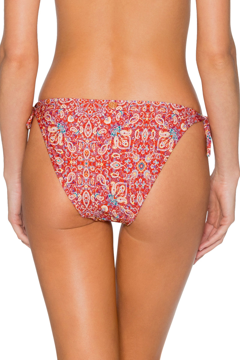 Swim Systems Turkish Twist Poppy Tie Side Bottom
