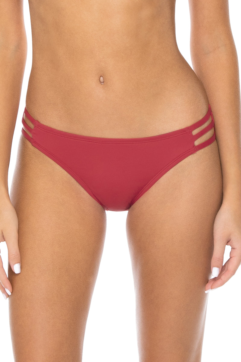 Swim Systems Red Rose Triple Threat Bottom