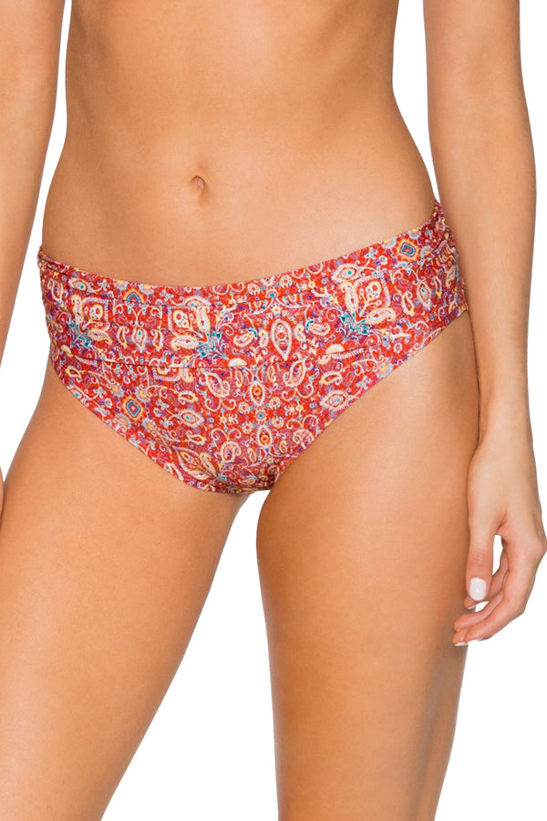 Swim Systems Turkish Twist Aloha Banded Bottom