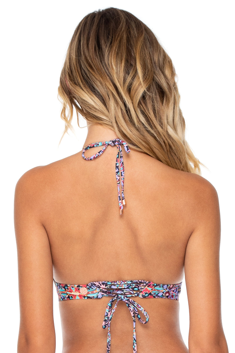 Swim Systems Palace Lovebirds Halter Top